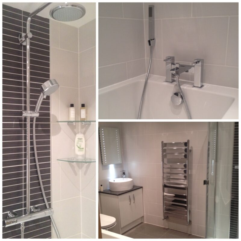 Beautiful bathroom installation in wigan for D i y bathroom installations
