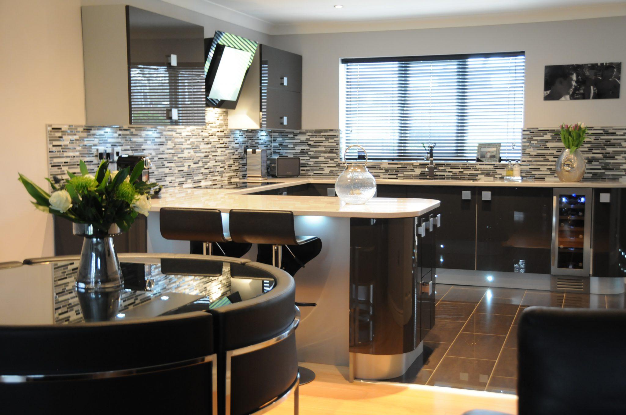Grey Gloss Kitchens Standish Wigan