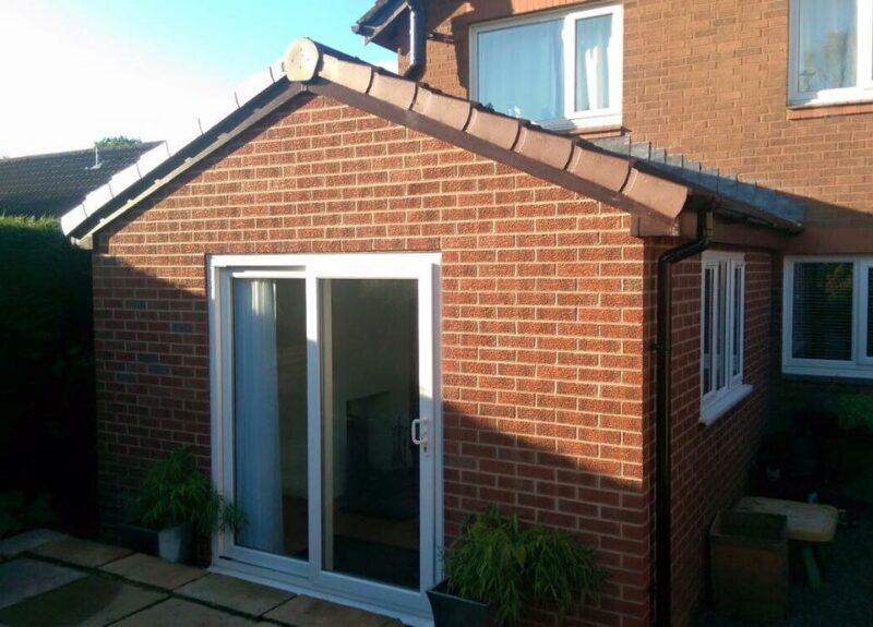 Pitched Roof Extension In Adlington Ck Installations