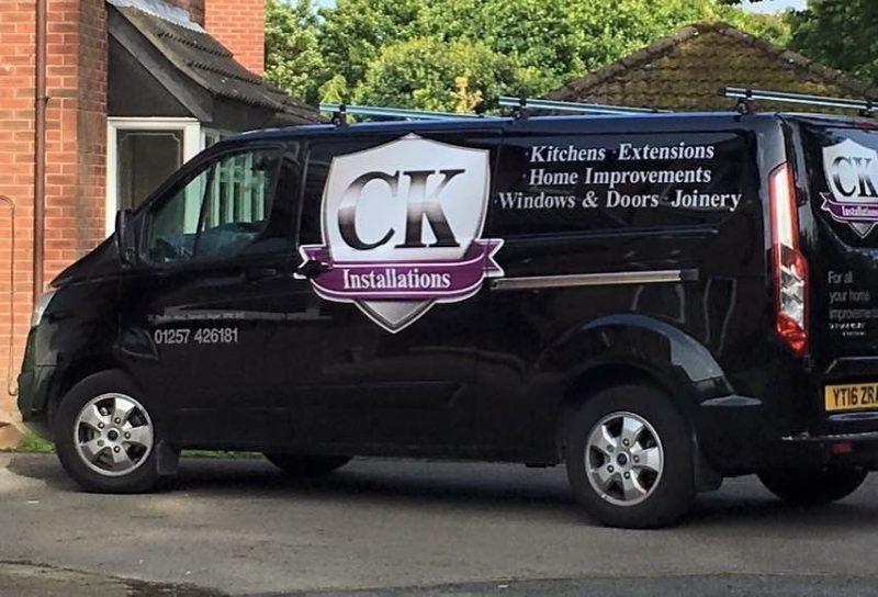CK Installations Van